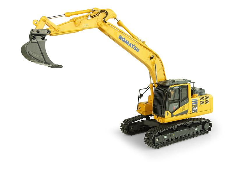 Komatsu PC210LC-11 Tracked Excavator 1/50 Diecast Model Universal Hobbies UH8122