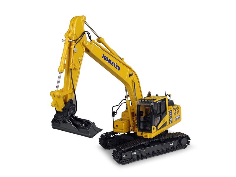 Komatsu PC210LCi-11 Tracked Excavator Intelligent Machine Control IMC Edition 1/50 Diecast Model Universal Hobbies UH8123