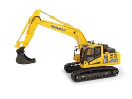 Komatsu HB215LC-3 Hybrid Tracked Excavator 1/50 Diecast Model Universal Hobbies UH8135