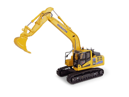 Komatsu HB205-3 Hybrid Tracked Excavator Japan Version 1/50 Diecast Model Universal Hobbies UH8136