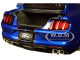 Ford Mustang Shelby GT-350R Lightning Blue Black Stripes 1/18 Model Car Autoart 72933