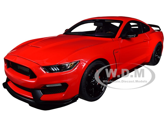 Ford Mustang Shelby GT-350R Race Red 1/18 Model Car Autoart 72935