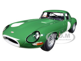 Jaguar Lightweight E Type Roadster RHD Right Hand Drive Opalescent Dark Green 1/18 Model Car Autoart 73648