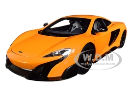 McLaren 675LT McLaren Orange 1/18 Model Car Autoart 76048