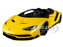 Lamborghini Centenario Roadster Giallo Inti Pearl Yellow 1/18 Model Car Autoart 79117