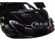 McLaren 650S GT3 Gloss Black Matt Black Accents 1/18 Model Car Autoart 81644