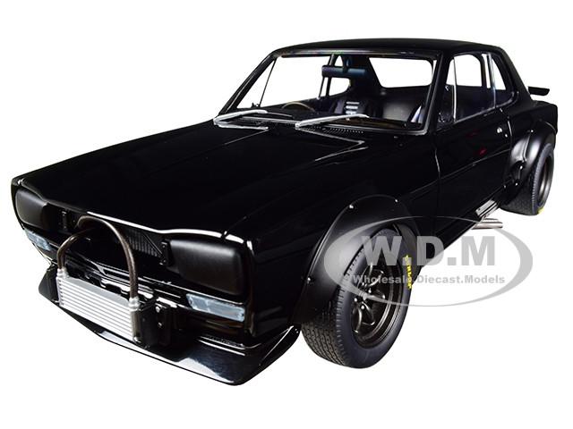 1972 Nissan Skyline GT-R KPGC-10 Racing Black Millennium 1/18 Diecast Model Car Autoart 87278