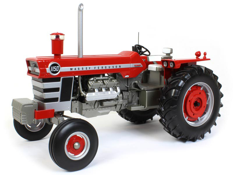 Massey Ferguson 1150 Wide Tractor Weights Radio Classic Series 1/16 Diecast Model SpecCast SCT709