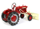 International Harvester Farmall Cub Tractor Blade Tire Chains Classic Series 1/16 Diecast Model SpecCast ZJD1848