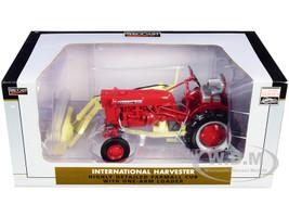 International Harvester Farmall Cub Tractor One-Arm Loader Classic Series 1/16 Diecast Model SpecCast ZJD1849