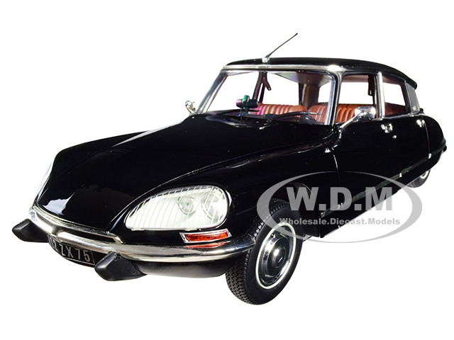 1974 Citroen DS 23 Pallas Black 1/18 Diecast Model Car Norev 181482