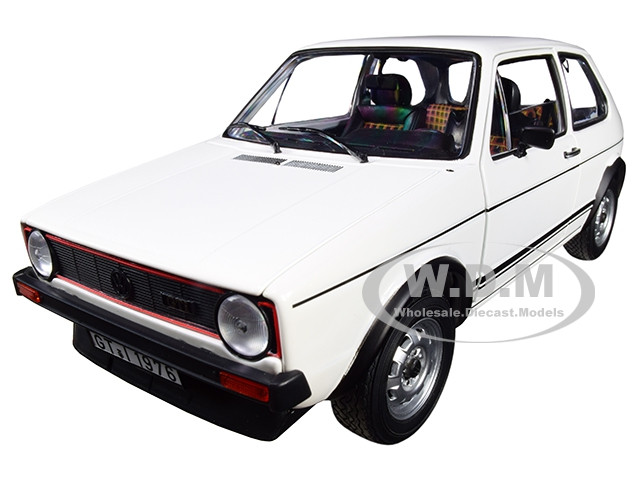 1976 Volkswagen Golf GTI White 1/18 Diecast Model Car Norev 188484