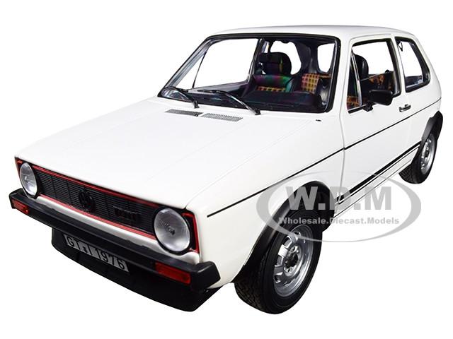 1976 Volkswagen Golf GTI White 1/18 Diecast Model Car Norev 188484