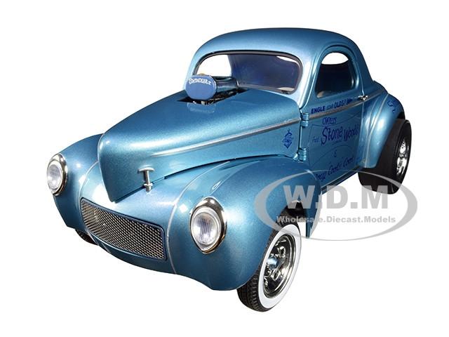 1941 Gasser SWC Swindler II Metallic Blue Stone Woods Cook Limited Edition 546 pieces Worldwide 1/18 Diecast Model Car Acme A1800912