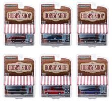 The Hobby Shop Series 6 Set 6 Cars 1/64 Diecast Models Greenlight 97060