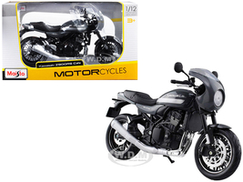 Kawasaki Z900RS Cafe Gray 1/12 Diecast Motorcycle Model Maisto 18989