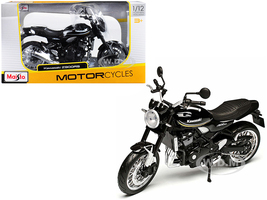 Kawasaki Z900RS Black 1/12 Diecast Motorcycle Model Maisto 18990