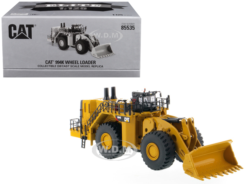 CAT Caterpillar 994K Wheel Loader Elite Series 1/125 Diecast Model Diecast Masters 85535