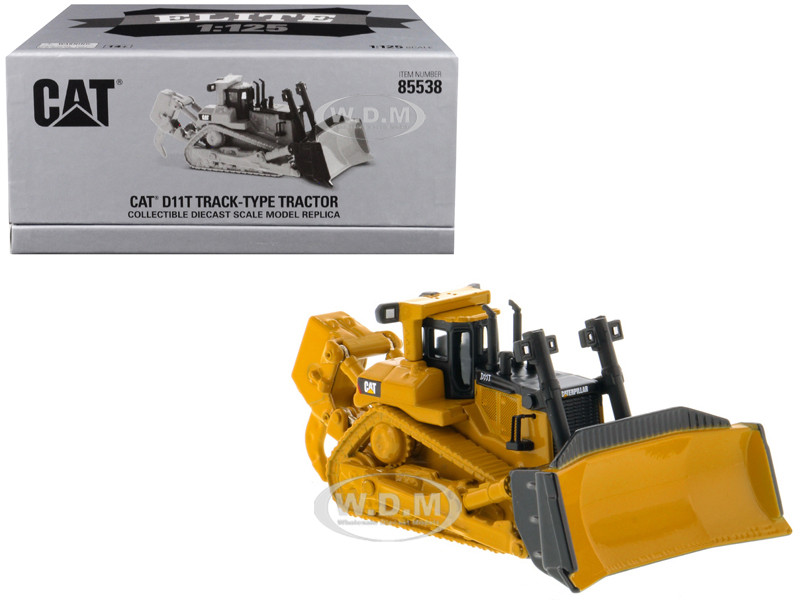 CAT Caterpillar D11T Track Type Tractor Elite Series 1/125 Diecast Model Diecast Masters 85538