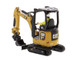 CAT Caterpillar 301.7 CR Next Generation Mini Hydraulic Excavator with Work Tools Operator High Line Series 1/50 Diecast Model Diecast Masters 85597