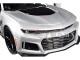 2017 Chevrolet Camaro ZL1 Silver Black Stripe 1/24 Diecast Model Car Motormax 79351