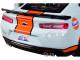 2017 Chevrolet Camaro ZL1 Gulf Livery Light Blue Orange Stripe 1/24 Diecast Model Car Motormax 79656