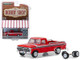 1975 Ford F-100 Explorer Pickup Truck Red White Stripes Spare Tires The Hobby Shop Series 6 1/64 Diecast Model Car Greenlight 97060 E