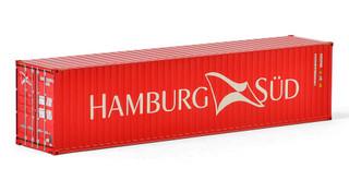 Hamburg Sud 40' Container WSI Premium Line 1/50 Diecast Model WSI Models 04-2034