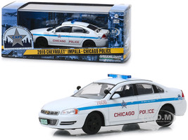 2010 Chevrolet Impala Chicago Police 1/43 Diecast Model Car Greenlight 86166