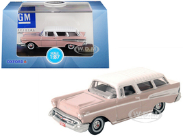 1957 Chevrolet Nomad Dusk Pearl Imperial Ivory Top 1/87 HO Scale Diecast Model Car Oxford Diecast 87CN57001