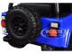 1992 Jeep Wrangler Dark Blue Extra Wheels Just Trucks Series 1/24 Diecast Model Car Jada 31059