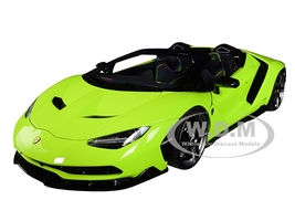 Lamborghini Centenario Roadster Verde Scandal Solid Light Green 1/18 Model Car Autoart 79118