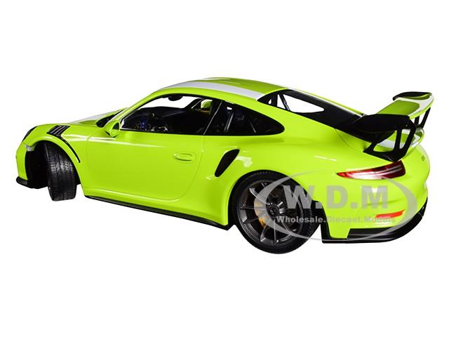 2015 PORSCHE 911 GT3 RS LIGHT GREEN LTD ED 1//18 DIECAST CAR MINICHAMPS 155066224