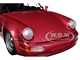 1990 Porsche 911 Turbo Metallic Red Limited Edition 504 pieces Worldwide 1/18 Diecast Model Car Minichamps 155069102