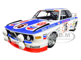 BMW 3.0 CSL #15 Harald Menzel Alain Peltier BMW Alpina 24 Hours SPA 1973 Malcolm Gartian Racing Limited Edition 336 pieces Worldwide 1/18 Diecast Model Car Minichamps 155732695