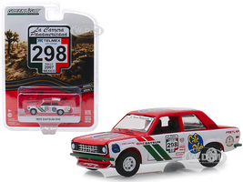 1972 Datsun 510 #298 Rally Mexico 2007 La Carrera Panamericana Series 1 1/64 Diecast Model Car Greenlight 13240 F