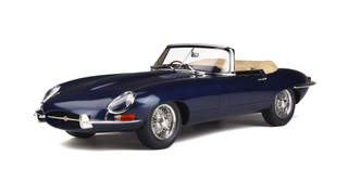 Jaguar E Type Roadster RHD Right Hand Drive Dark Blue Limited Edition 500 pieces Worldwide 1/12 Model Car GT Spirit GT219