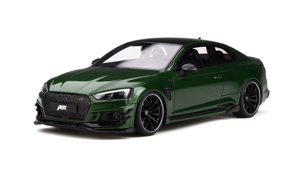 Audi ABT RS5-R Sonoma Green Limited Edition to 999 pieces Worldwide 1/18  Model Car by GT Spirit