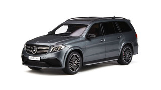 Mercedes AMG GLS 63 Selenite Gray Limited Edition 500 pieces Worldwide 1/18 Model Car GT Spirit GT784