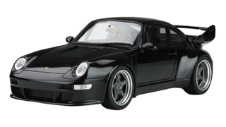 Porsche 993 400R Gunther Werks Black Asia Exclusive Series Limited Edition 402 pieces Worldwide 1/18 Model Car GT Spirit Kyosho KJ028