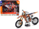 KTM 450 SX-F #222 Tony Cairoli World Champion Legend Red Bull KTM Factory Racing 1/10 Diecast Motorcycle Model New Ray 58123