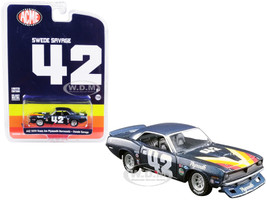 1970 Plymouth Barracuda Trans Am #42 Swede Savage ACME Exclusive 1/64 Diecast Model Car Greenlight ACME 51264