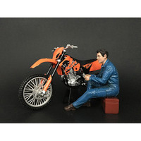 Mechanic Michael Figurine for 1/12 Scale Motorcycle Models American Diorama 38371