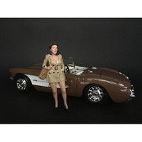 Ladies Night Betty Figurine for 1/24 Scale Models American Diorama 38295