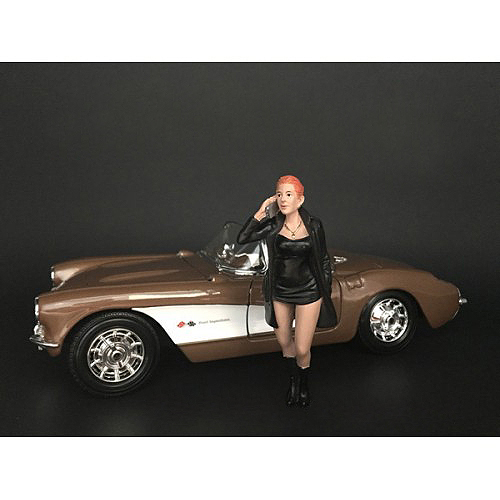 Ladies Night Gianna Figurine for 1/18 Scale Models American Diorama 38190