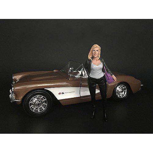 Ladies Night Angela Figurine for 1/18 Scale Models American Diorama 38192