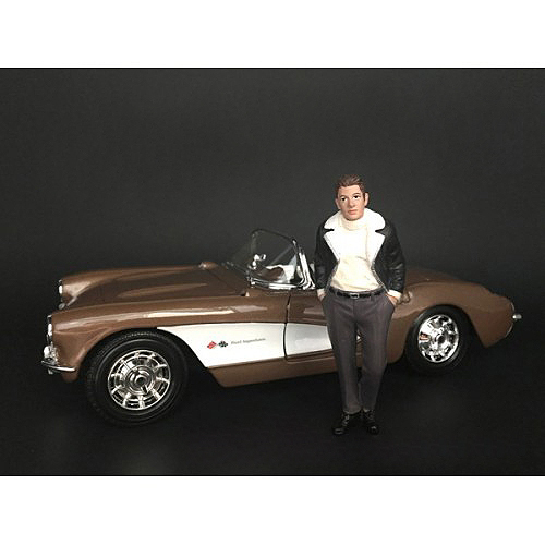 Ladies Night Marco The Owner Figurine for 1/18 Scale Models American Diorama 38194