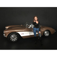 Ladies Night Lindsay Figurine for 1/18 Scale Models American Diorama 38196