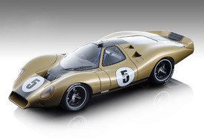 1968 Ford P68 #5 Alan Mann Press Version Metallic Gold Mythos Series Limited Edition 50 pieces Worldwide 1/18 Model Car Tecnomodel TM18-88 E