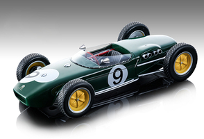Lotus 18 #9 John Surtees Championship Formula 1 F1 British Grand Prix 1960 Mythos Series Limited Edition 120 pieces Worldwide 1/18 Model Car Tecnomodel TM18-124 D